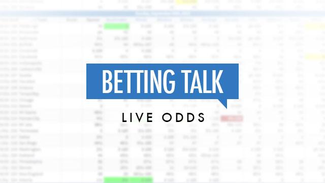 betting talk live odds